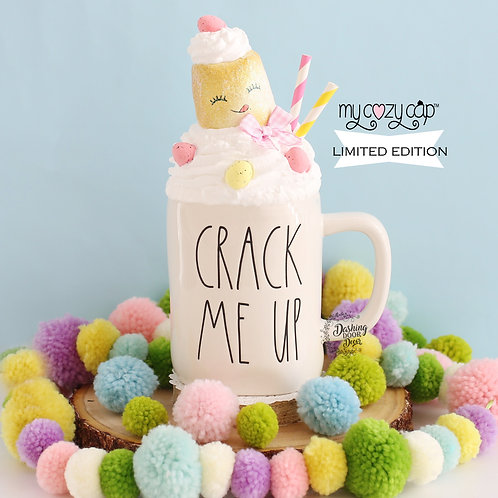 LE My Cozy Cap™ Easter Marshmallow Faux Whip Mug Topper Fits Rae Dunn Mug