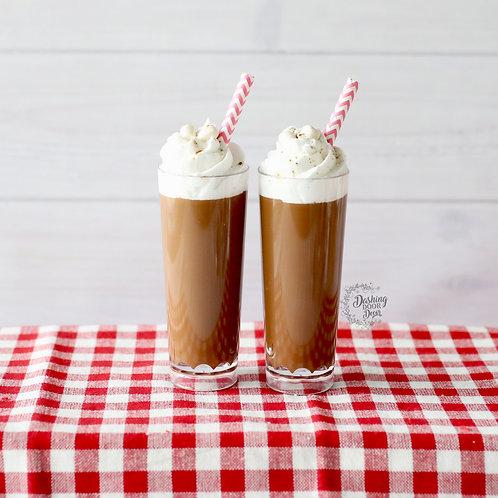 Fake Food Hot Cocoa Chocolate Latte w/ Marshmallows & Whipped Cream (small)