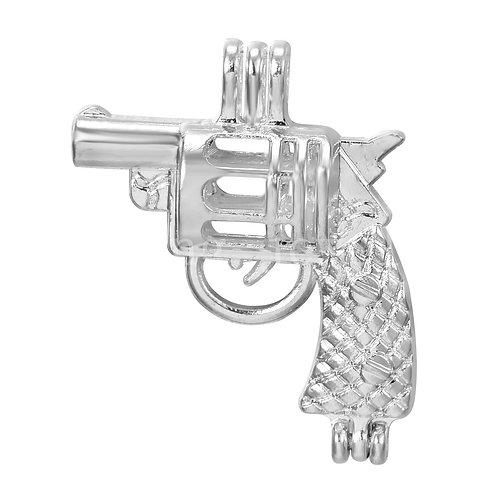Gun Pearl Pendant
