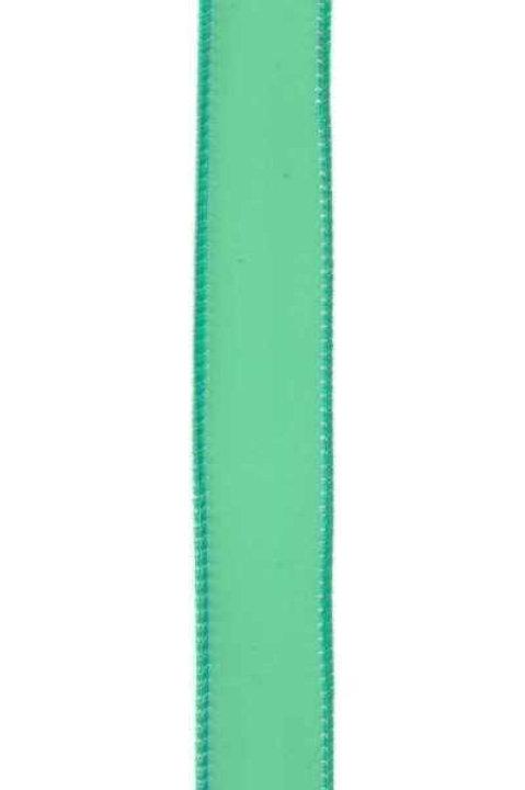 "d. Stevens 1"" PVC Jelly Ribbon: Electric Green (10 yards)"