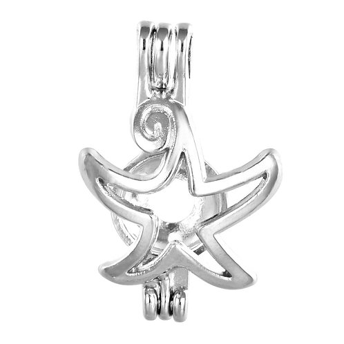 Starfish Pearl Pendant