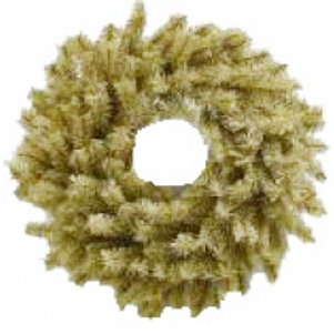 """24 """" Elevated Natural Brown (burlap color) Wreath Form"""