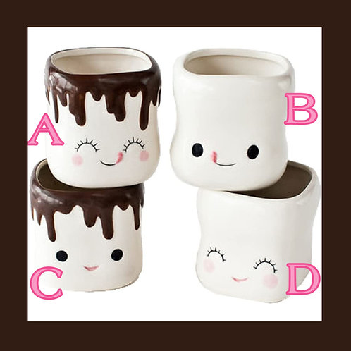 Marshmallow Mugs Authentic One Hundred 80 degrees