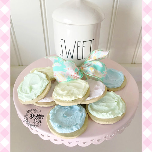 Fake Bake Frosted Sugar Cookies