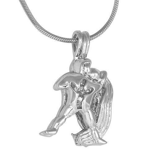 Aquarius Zodiac Pearl Pendant