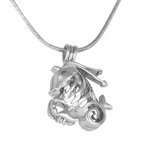 Capricorn Zodiac Pearl Pendant