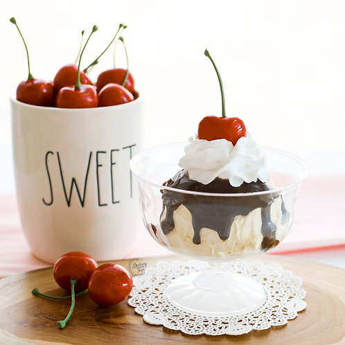 Fake Hot Fudge Sundae for Display