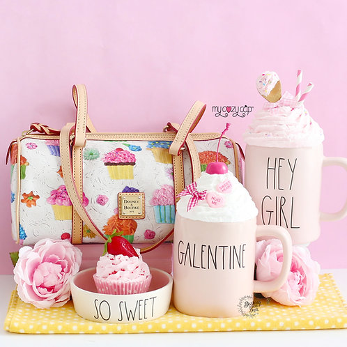 My Cozy Cap™ Candy & Ice Cream Faux Whip Mug Topper Fits Rae Dunn Mug