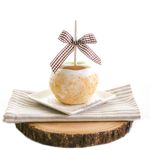 FauxGranny Smith Apple Pie Caramel Apple