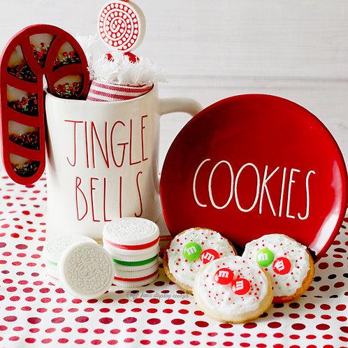 Fake Oreo or M&M  Christmas Cookies for Display