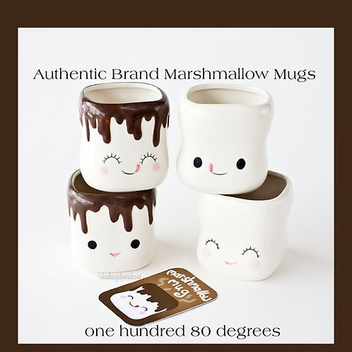 Authentic Official Marshmallow Mugs by: One Hundred 80 degrees
