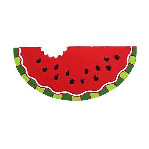 Wood Watermelon Wreath Sign