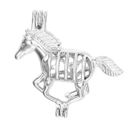 Horse Pearl Pendant