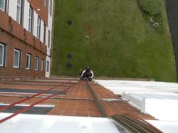 Doddington Aerials install satellite tv system using Rope Access (42)
