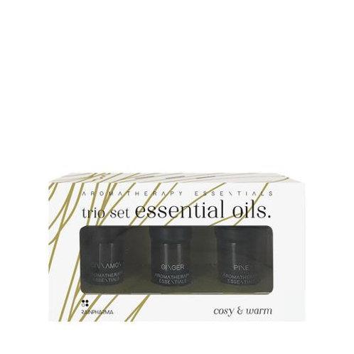 Trio Set Essential Oils - Cosy & Warm