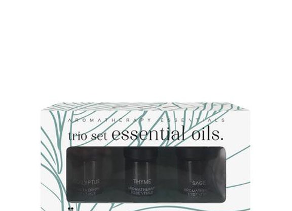 Trio Set Essential Oils - Clearing & Breathing