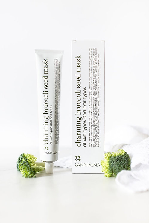 Charming Broccoli Seed Mask