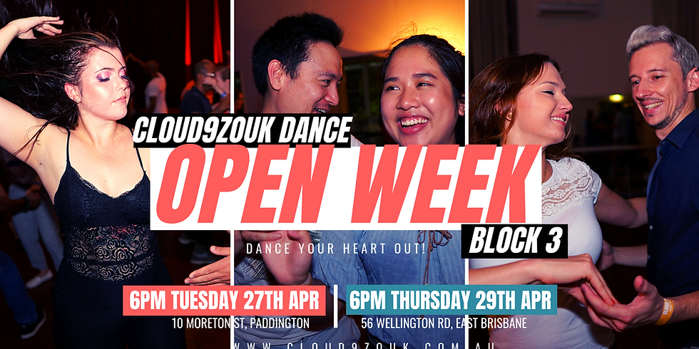 Open Week B3 Southside | Thur 29th Apr