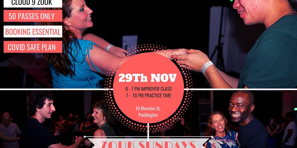 Zouk Sundays & Practica | Nov 29th