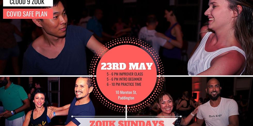 Zouk Sundays & Practica   23rd May