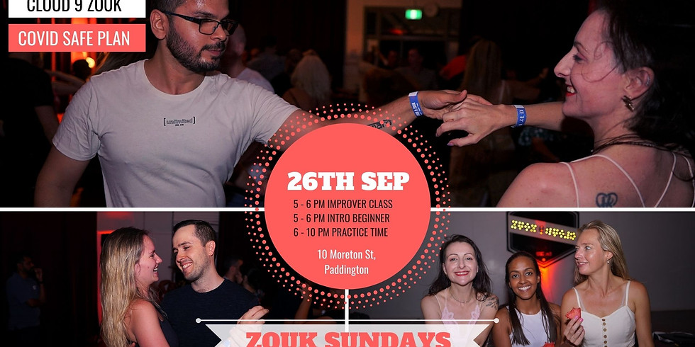 Zouk Sundays  |  26th Sep