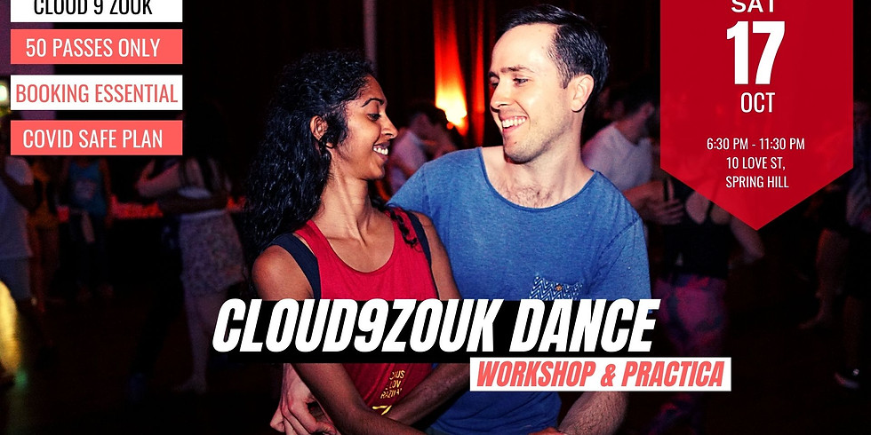 Cloud 9 Zouk Workshops & Practica