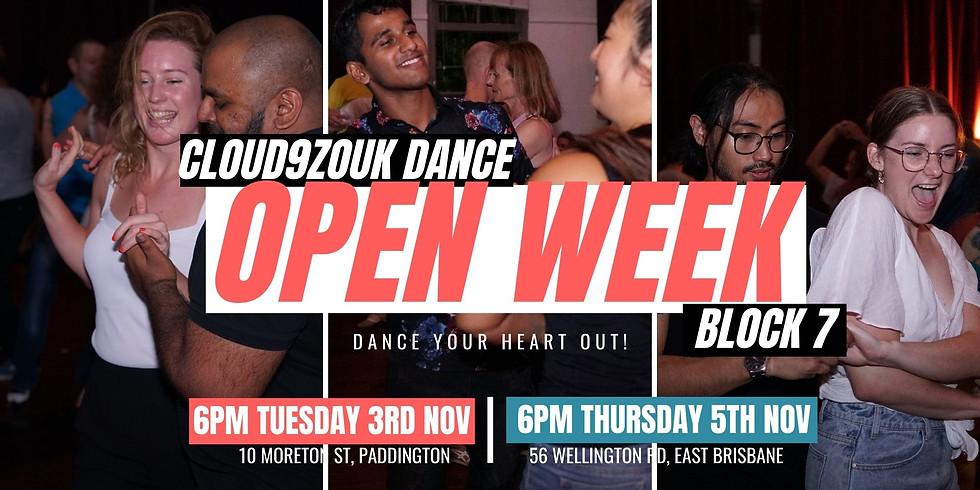Block 7 Open Week Southside | Thur 5th Nov