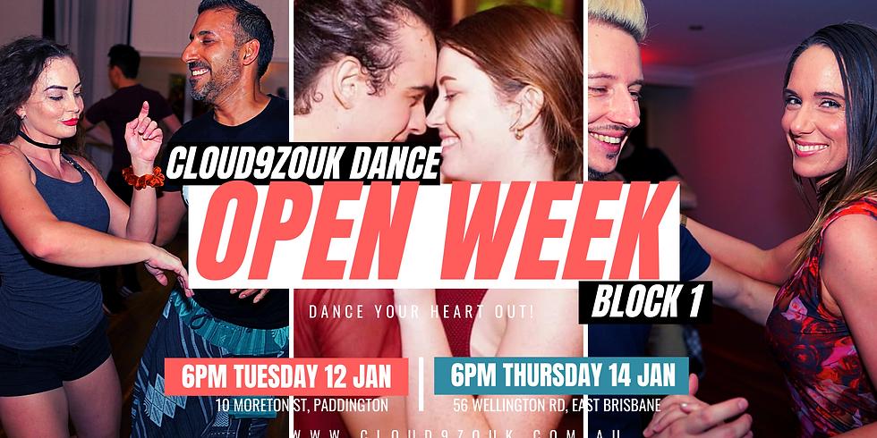 Open Week B1 Northside | Tue 12th Jan
