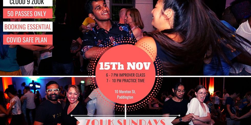 Zouk Sundays & Practica   Nov 15th