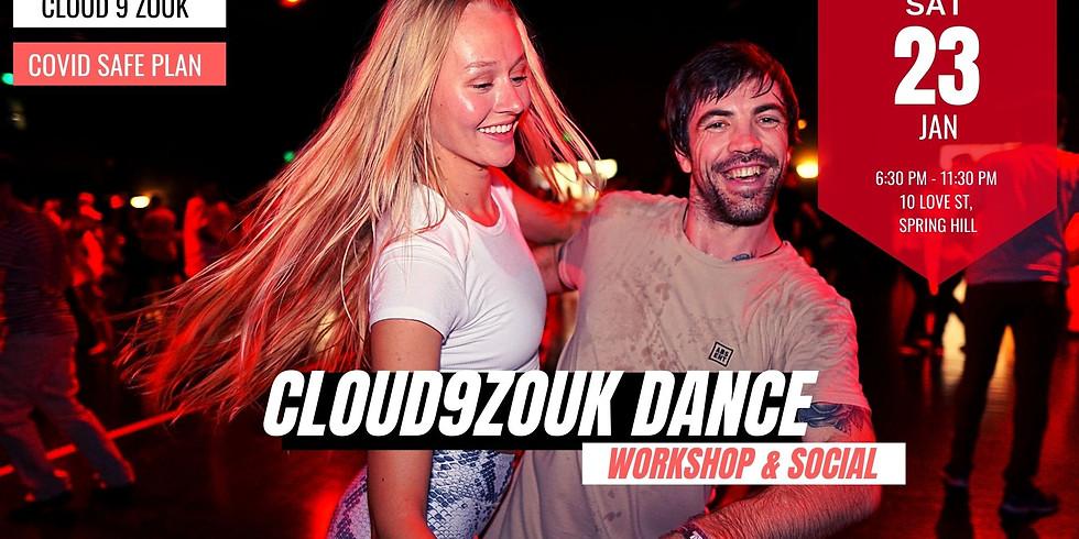 Cloud 9 Zouk Recreational Dance | 23rd Jan