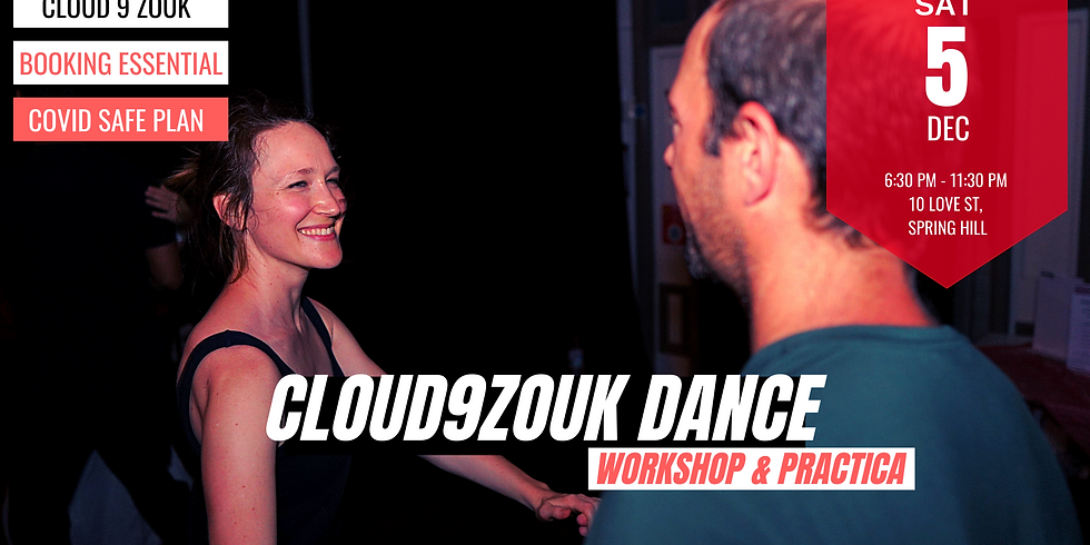Cloud 9 Zouk Recreational Dance   5th Dec