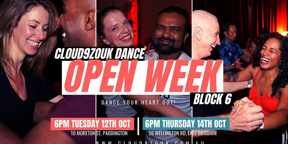 Open Week B6 Southside | Thur 14th Oct