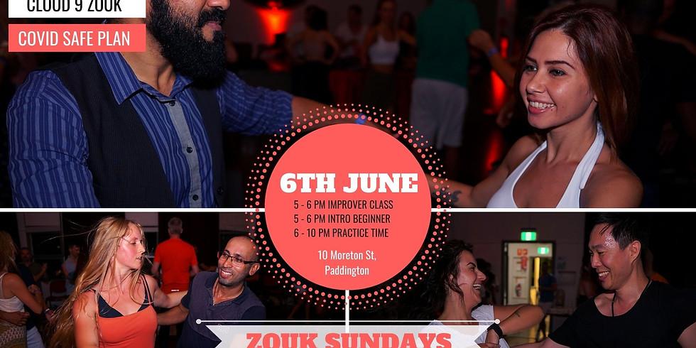 Zouk Sundays & Practica   6th June