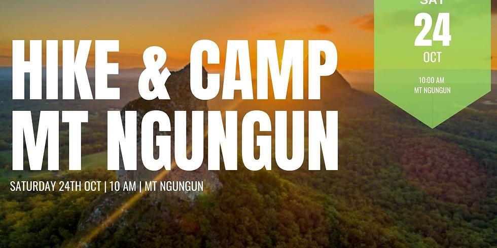 Hike & Camp at Mt Ngungun