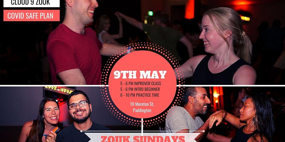 Zouk Sundays & Practica   9th May