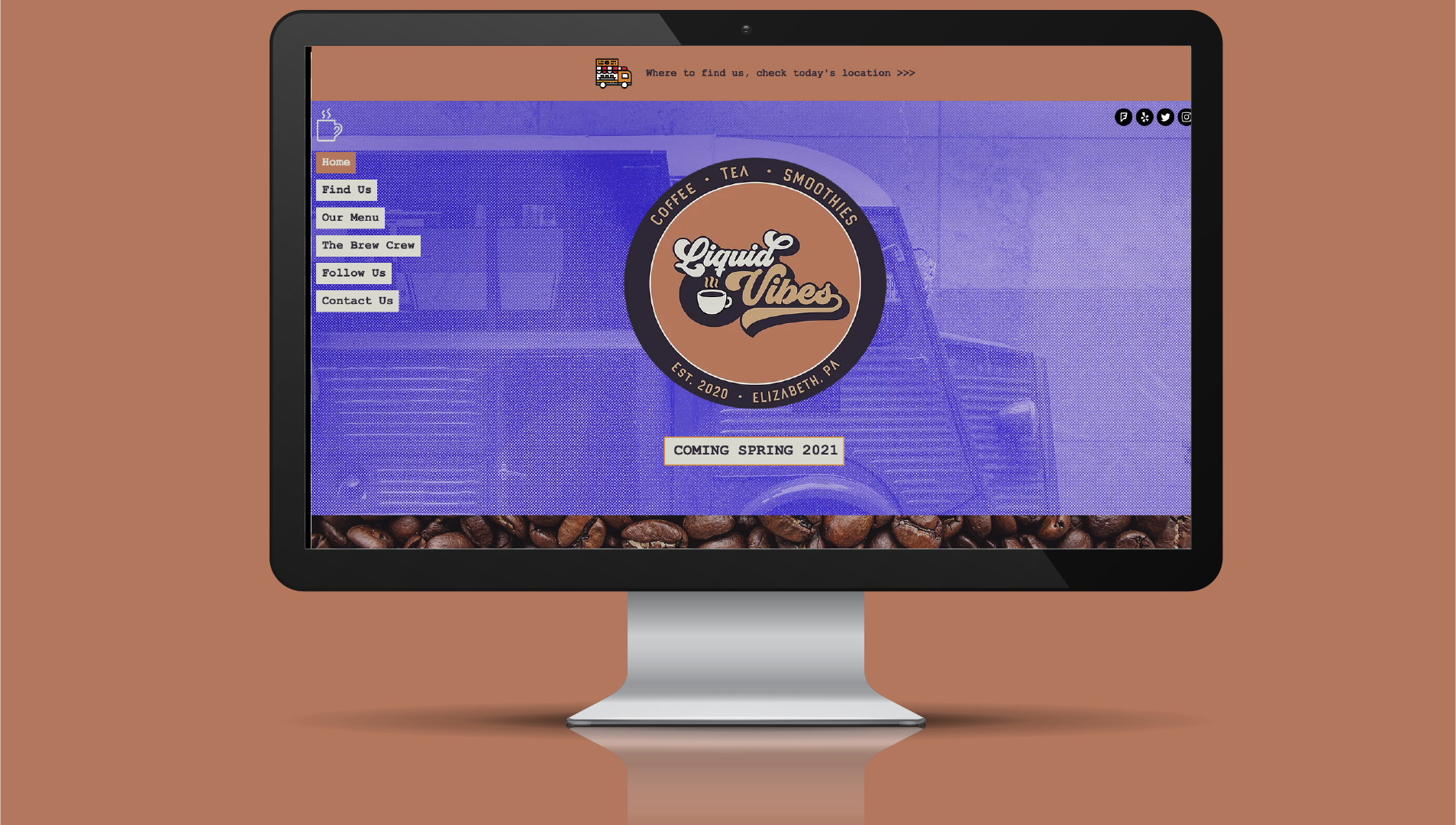 Coffee Truck Website
