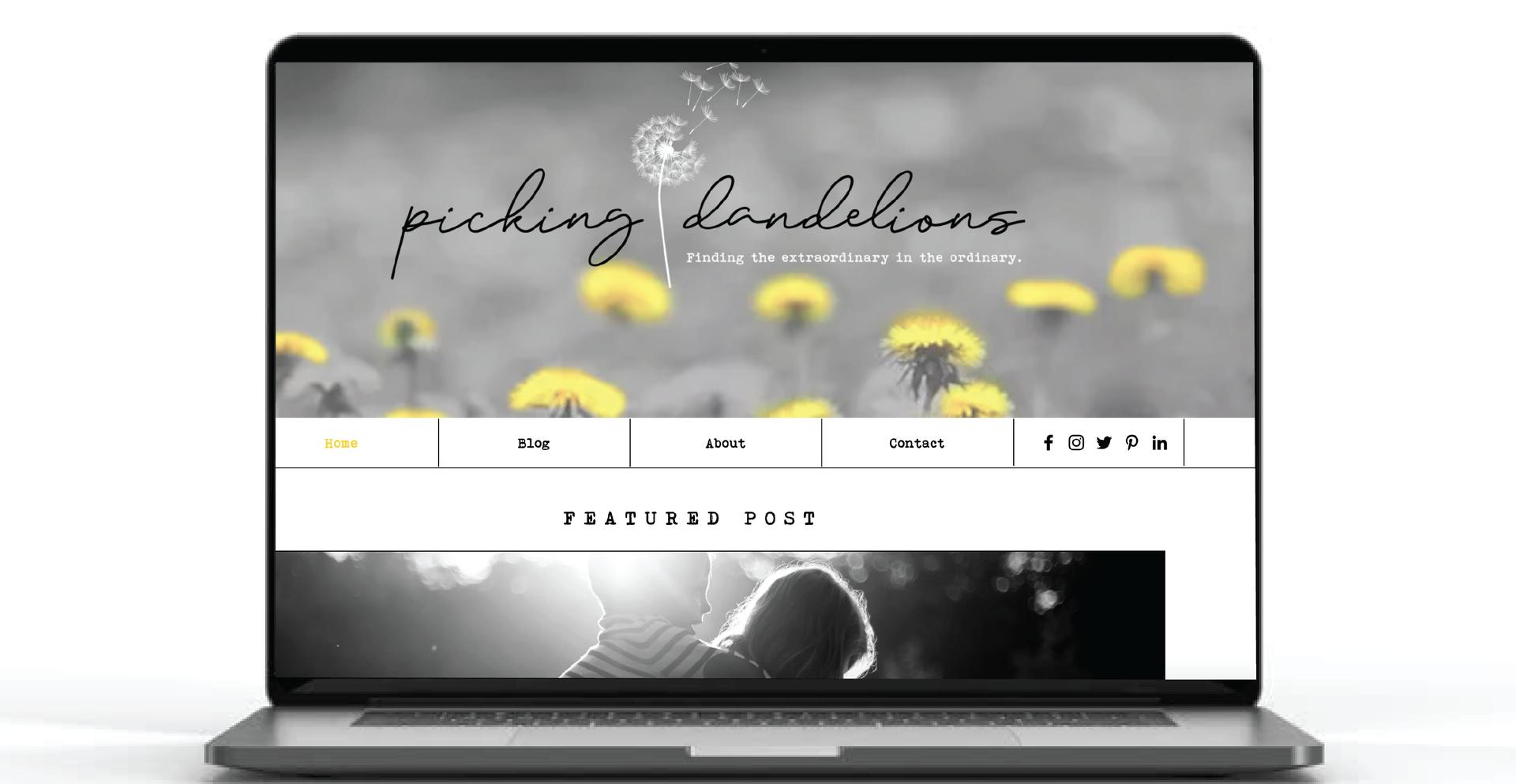 Blog Website Design
