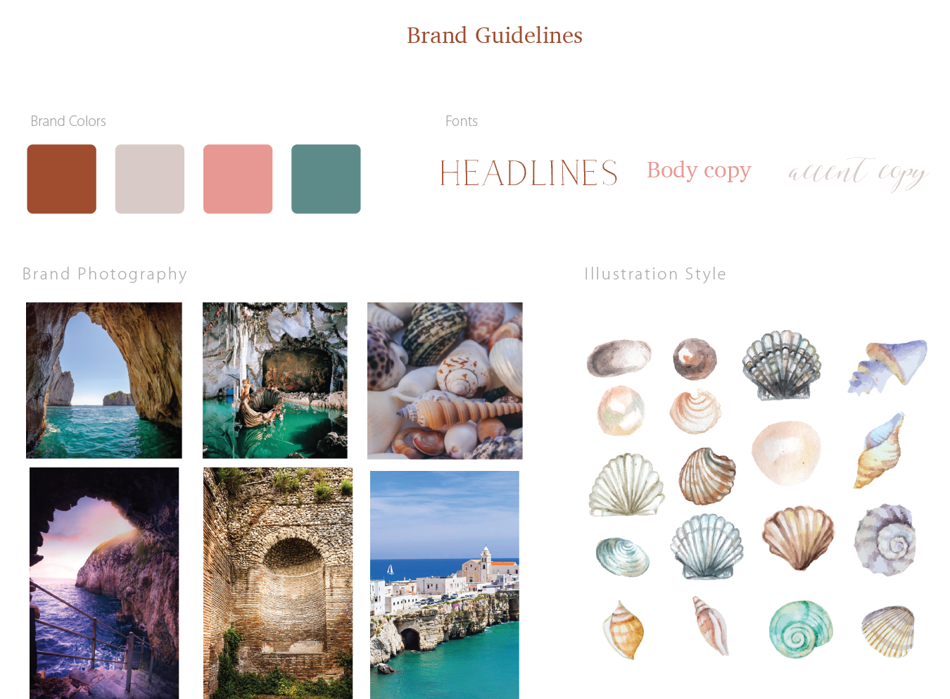 Seashell Artist Brand Guidelines