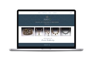 Jewelry Designer Website