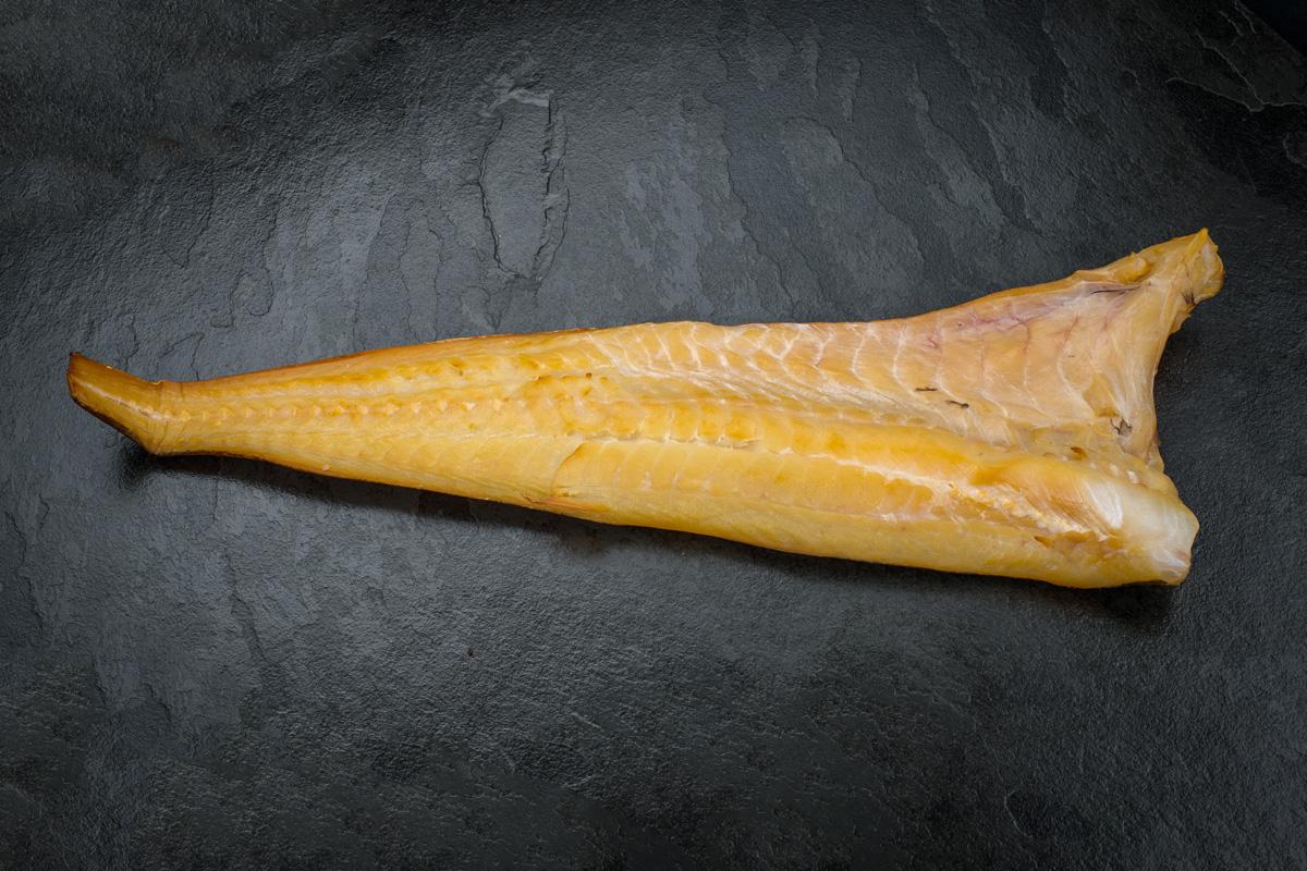 Smoked cod