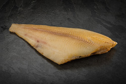 Roasted Greenland halibut