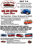 Kacies Cause JULY 2021 Rod and Custom flyer