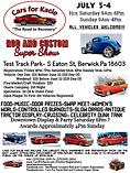 Kacies Cause JULY 2021 Rod and Custom flyer
