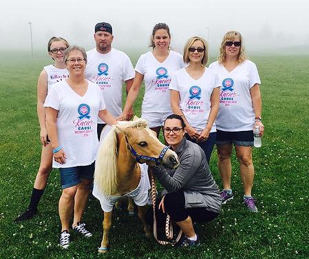 Parkesburg Chapter, Kacie's Cause, Abe the Mini Horse Mascot