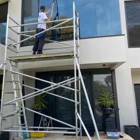 Construction Window Washing