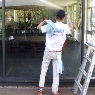 Window washing at the bowls club.jpg