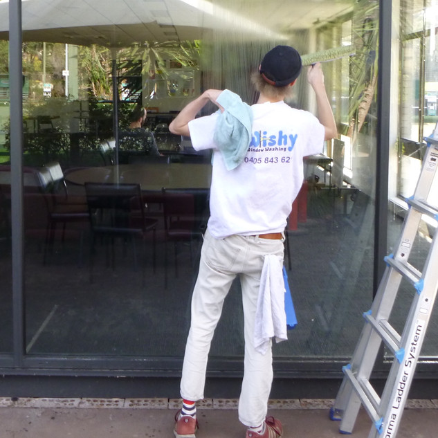 Window washing at the bowls club.jpg