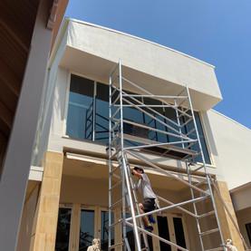 Builders window clean