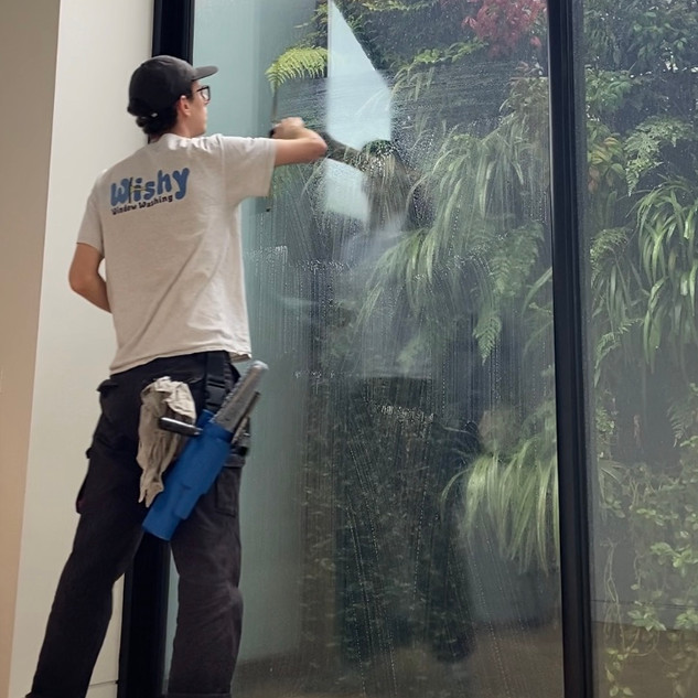 Internal Window Washing