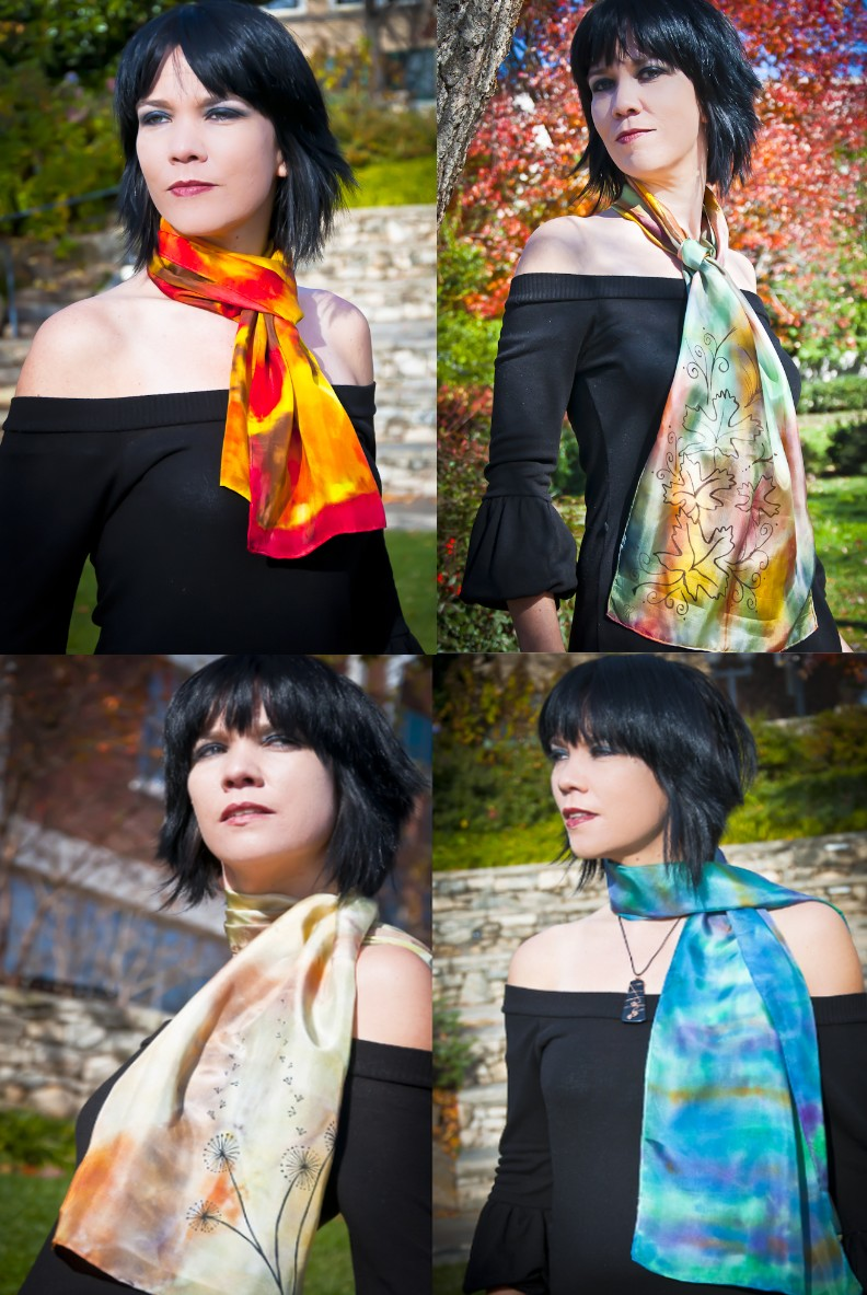 Silk Scarves by Niad